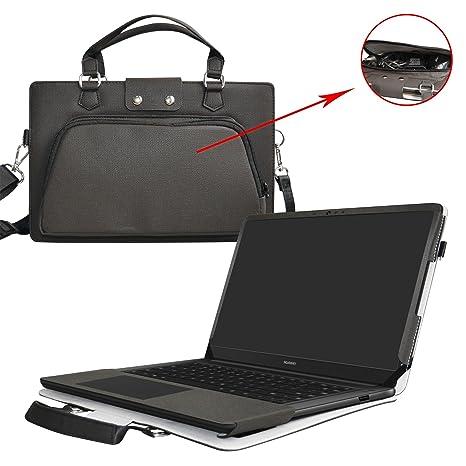 Huawei MateBook D Funda,2 in 1 Diseñado especialmente La Funda protectora de cuero de
