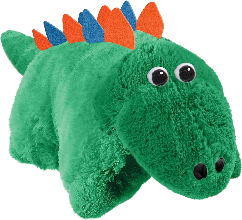 CJ Products Pets Stegosaurus Pillow 16 Inch Green