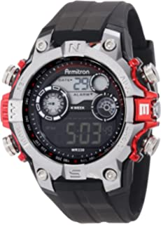 Buy armitron sport digital grey dial men watch 408231rdgy online armitron sport mens black digital with red metallic accents strap watch fandeluxe Choice Image