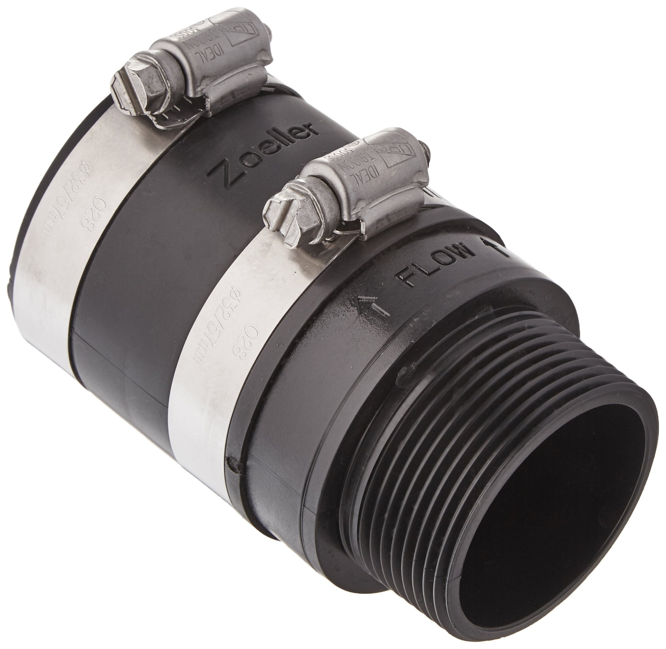 Zoeller 30-0238 Inline Check Valve, Small, Black by Zoeller