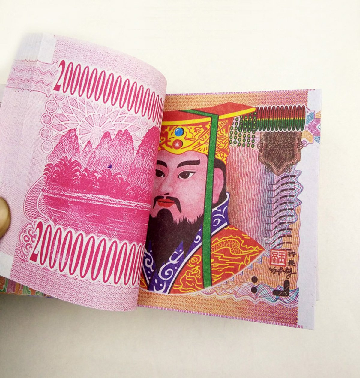 ZeeStar 300 Pcs Chinese Joss Paper Money Hell Bank Notes for Funerals The Qingming Festival and The Hungry Ghost Festival