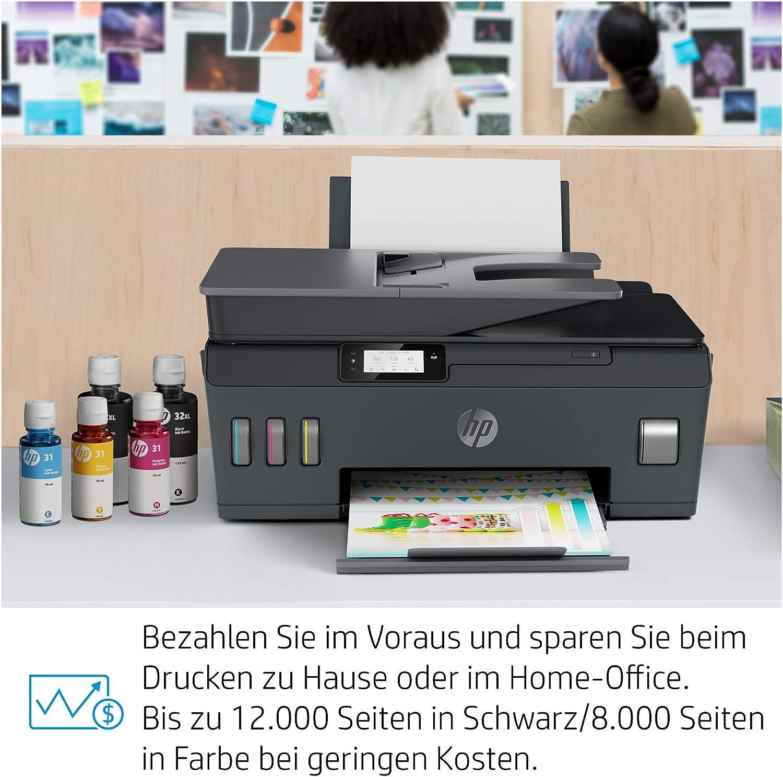 Hp Smart Tank Plus 570 Multifunktionsdrucker Computer Zubehör