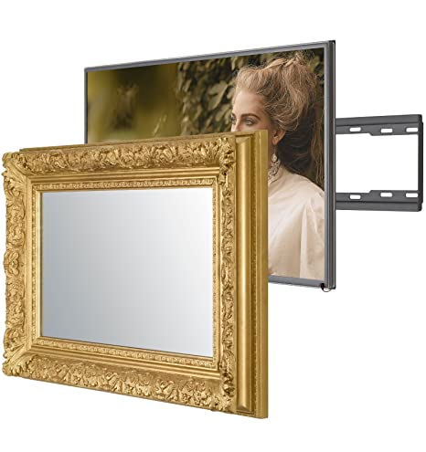 Handmade Framed Mirror Tv With Samsung Ue49nu7100 To Amazon Co Uk