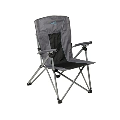Bo-Camp Chaise pliable - Deluxe King Plus - 4 positions - Anthracite