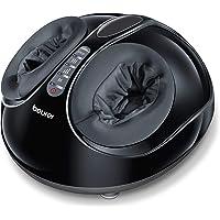 Beurer FM 90 Appareil de massage des pieds avec compression d'air Fonction chaleur, 3 combinaisons de massage Shiatsu