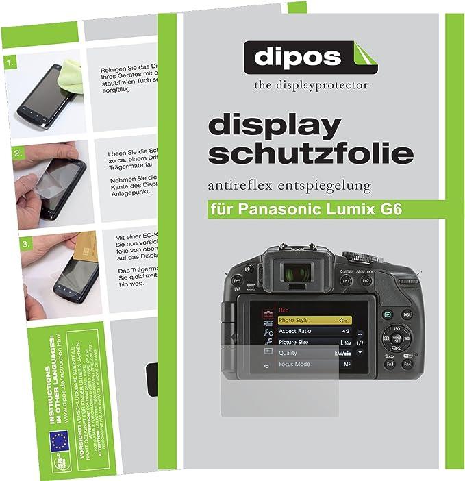 2x Display Schutz Folie für Fujifilm X-A7 Matt Entspiegelt
