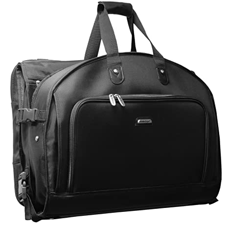 WallyBags 52 Inch Garmentote Tri-Fold with Shoulder Strap, Black, One Size   Amazon.ca  Luggage   Bags 52f89994a5