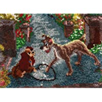 M.C.G. Textiles 52764 Lady and the Tramp Latch Hook Kit