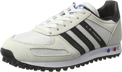 la trainer adidas bianche