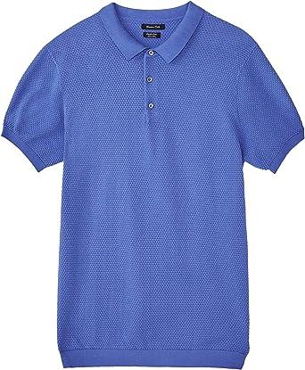 MASSIMO DUTTI 0951/444 - Suéter de algodón para Hombre Azul ...
