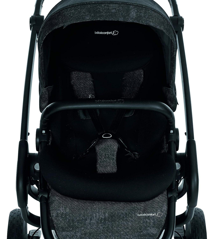 desde el nacimiento hasta los 3,5 a/ños B/éb/é Confort NOVA 3W Nomad Black color negro. Cochecito Todo Terreno