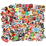 Cool Random Stickers Variety 55-700pcs FNGEEN Laptop Stickers Bomb Waterproof Vinyl Sticker Luggage Decal for Laptop…