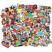 FNGEEN 105pcs Random Stickers Pack for Laptop, Skateboard Stickers, Cool Vinyl Waterproof Stickers for Adult Teens…