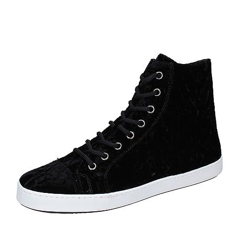 MANCAPANE Fashion Sneakers Donna 39 EU Nero Velluto Entrega Rápida Precio Barato 9gwlsQA4W