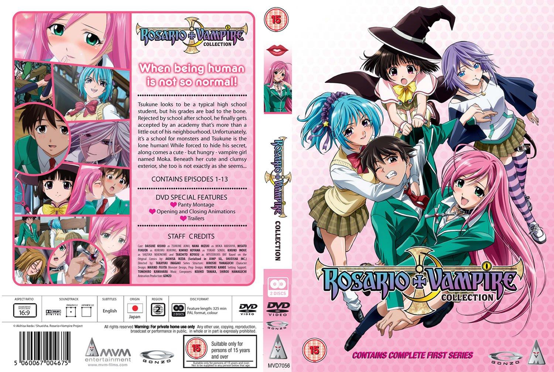 rosario u0026 vampire collection dvd amazon co uk takayuki inagaki