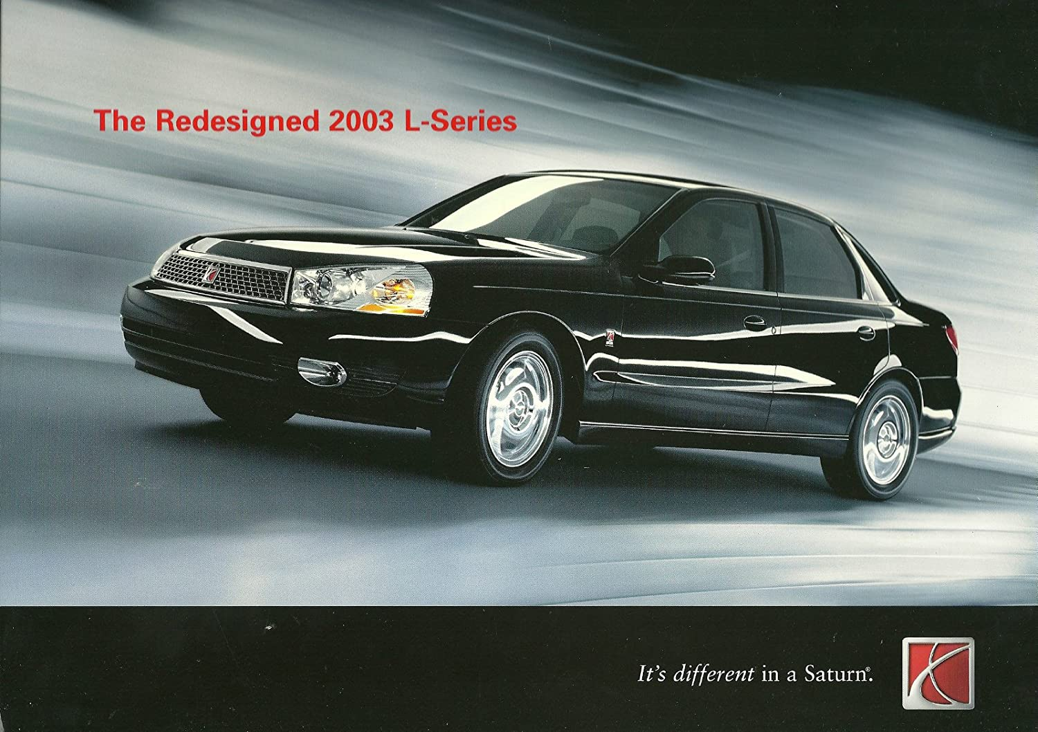2003 Saturn L Series Prestige Color Sales Brochure In Portfolio Usa Excellent Other Products Everything Else