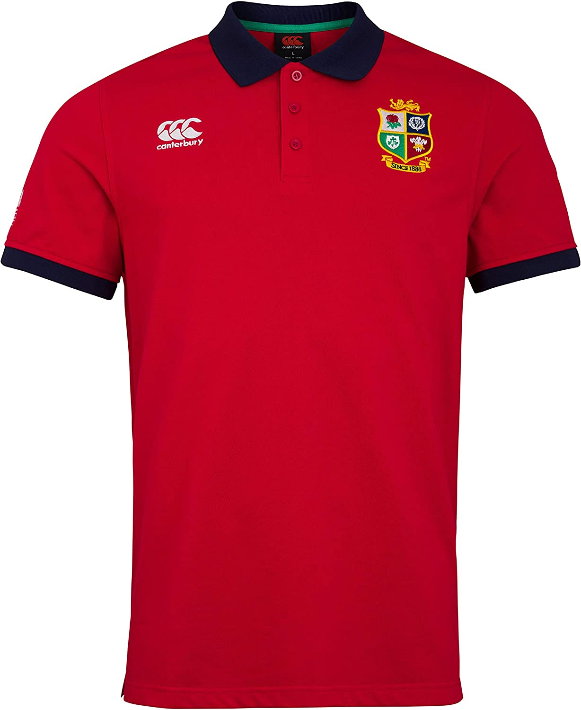 Canterbury Herren British and Irish Lions Home Nations Polohemd
