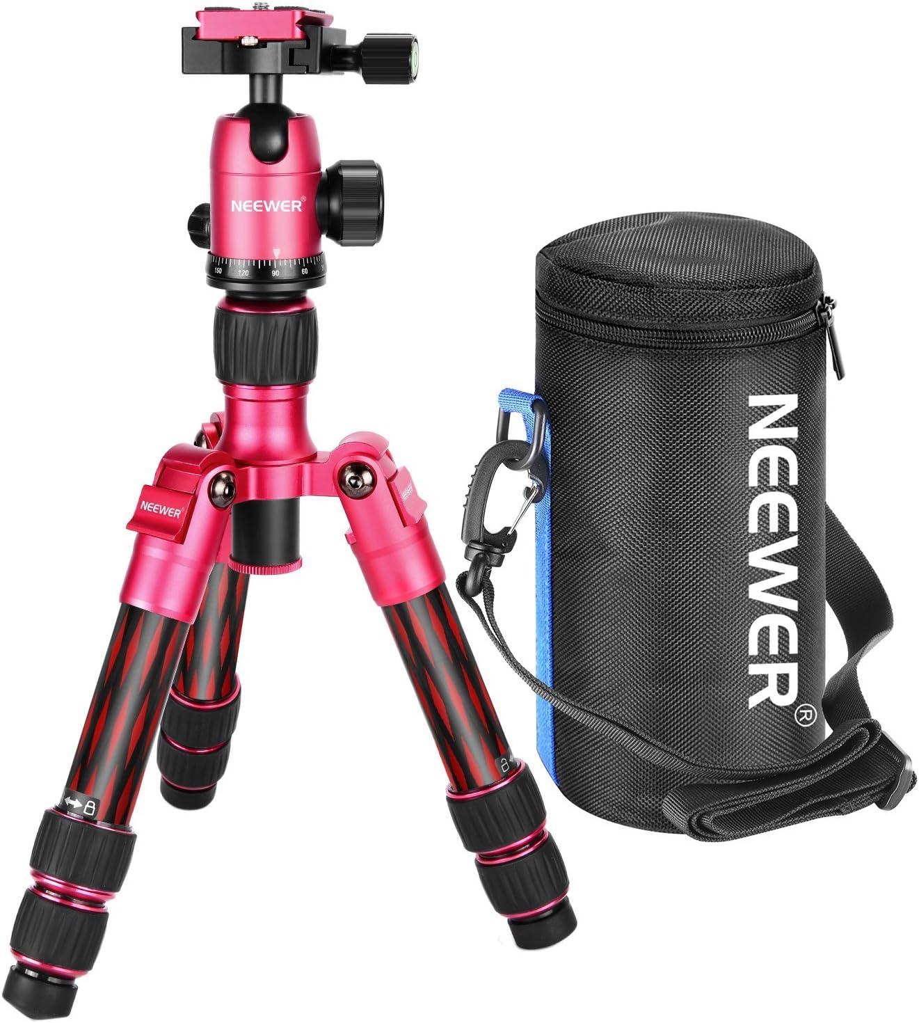 Neewer Mini Stativ Aus Karbonfaser 50 Cm Tragbar Für Kamera