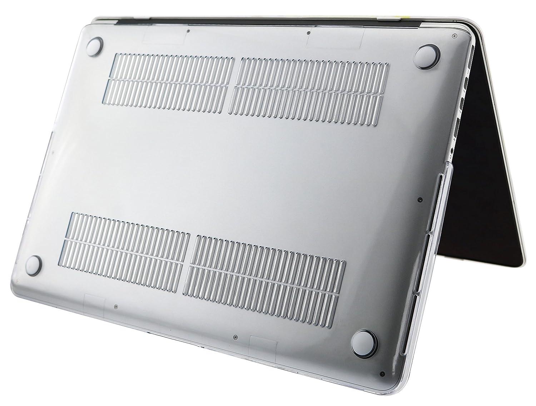 con funda para modelo: A1398 Funda r/ígida para MacBook Pro de 15 pulgadas con pantalla Retina Cerebro izquierdo derecho C 2 en 1