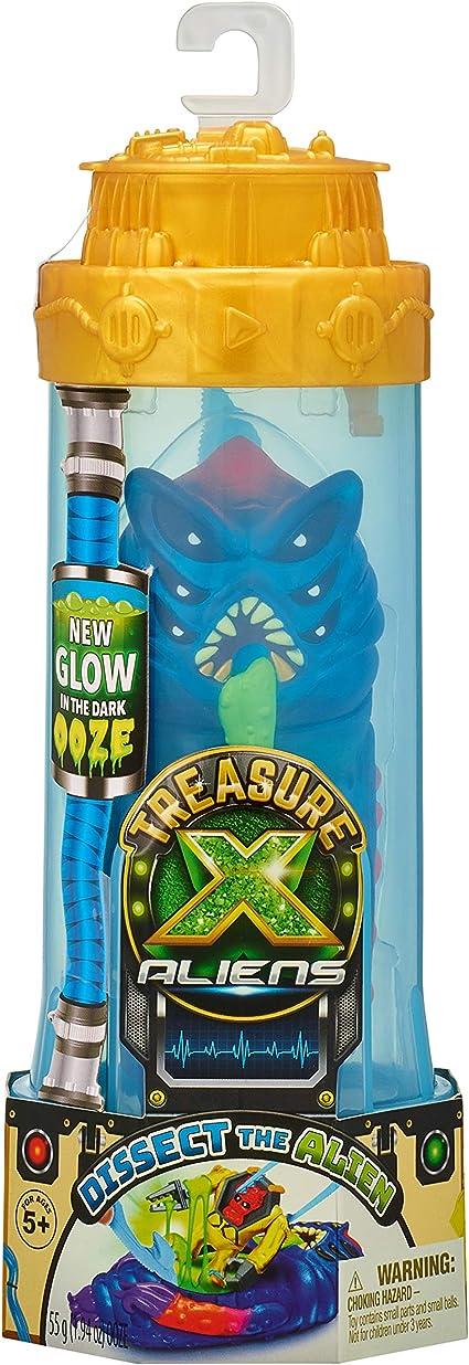 Treasure X Aliens Series 2 Green Dissect Figure *Glow in The Dark ooze*