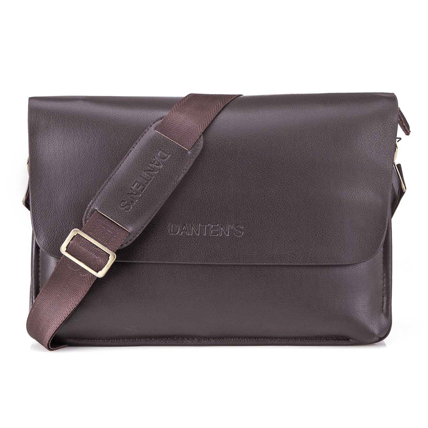 d224157562 Bienna Men Bags Crossbody Shoulder Bag Brown Genuine Leather Business  Messenger Bag for Work Travel Office