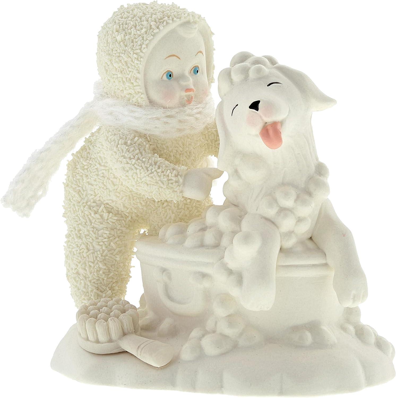 """Department 56 Snowbabies """"Bath Time"""" Porcelain Figurine, 4"""""""