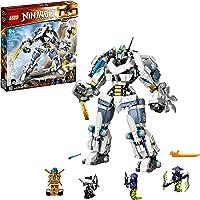 LEGO Kit de construcción Ninjago® Legacy 71738 Combate en el Titán Robot de Zane (840 Piezas)