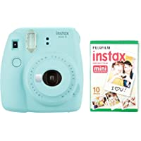 instax Mini 9 Camera with 30 Shots - Ice Blue