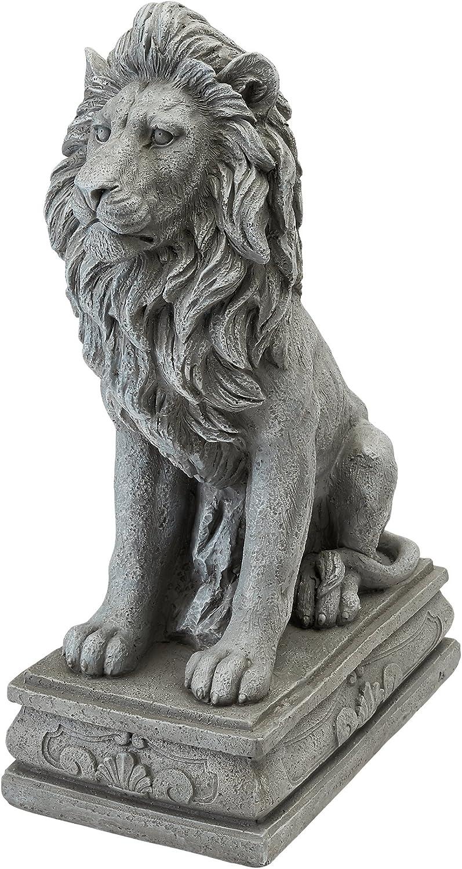 Design Toscano LY88278 Fouquet Royal Palace Sentinel Lion Statue