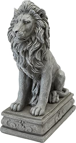 Design Toscano LY88278 Fouquet Royal Palace Sentinel Lion Statue