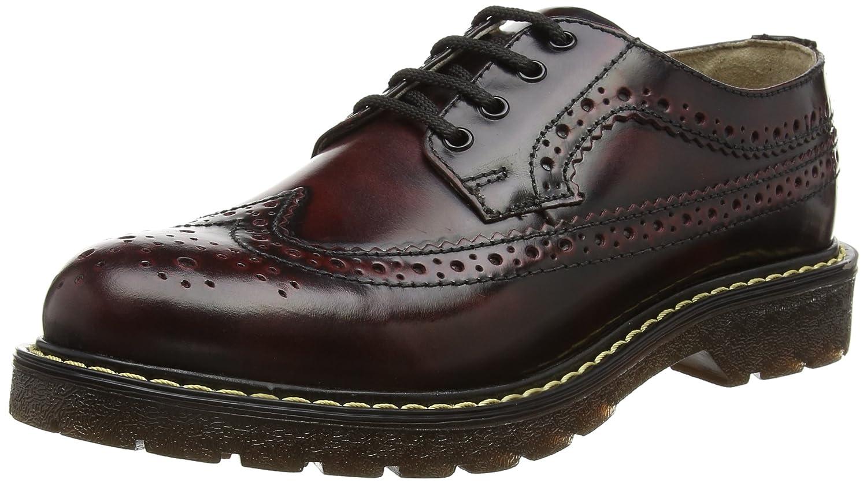 TALLA 40 EU. Grinders Bertrum, Zapatos de Cordones Brogue para Hombre