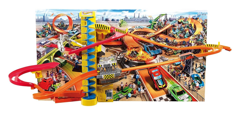 Hot Wheels W3434 - Hot Wheels Wall Tracks Power Tower Mattel Italy s.r.l.