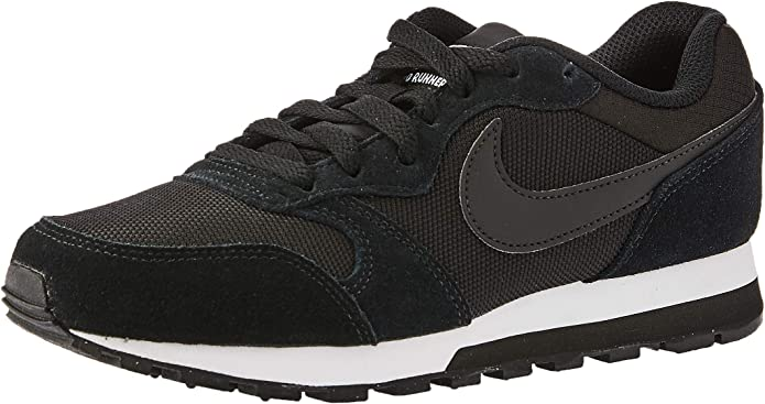 Nike MD Runner 2 Sneakers Damen Schwarz