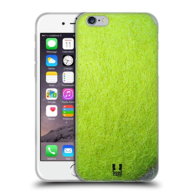 11 opinioni per Head Case Designs Tennis Palle Da Collezione Cover Morbida In Gel Per Apple