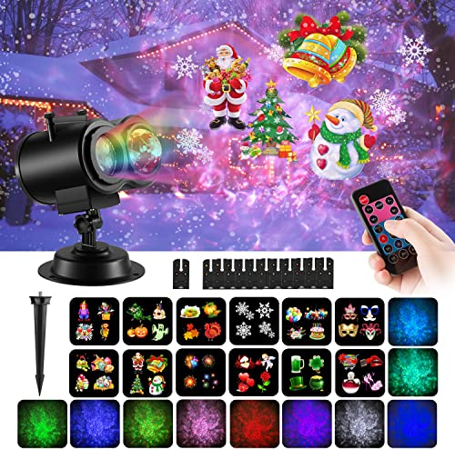 COMLIFE Christmas Decoration Projector Lights review