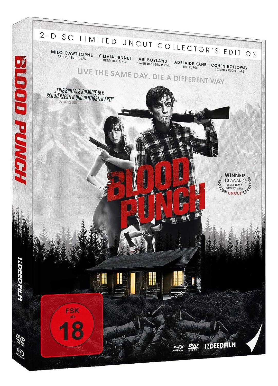 De Blood Punch Und Taglich Grusst Der Tod Mediabook