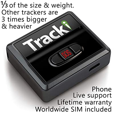 Tracki 2020 Model Mini Real time GPS Tracker. Full USA & Worldwide Coverage. For Vehicles, Car, Kids. Magnetic Hidden small Portable Tracking Device. Child, elderly, Dog pet drone motorcycle bike auto: Sports & Outdoors