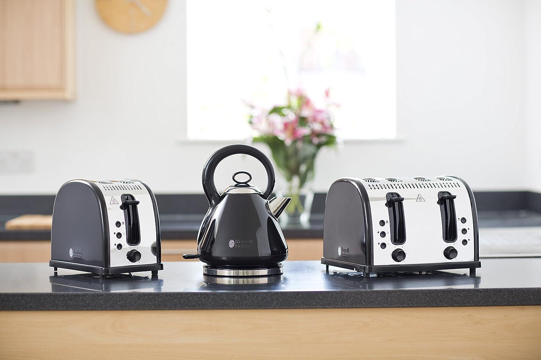 Russell Hobbs Legacy 4 Slice Toaster - Black