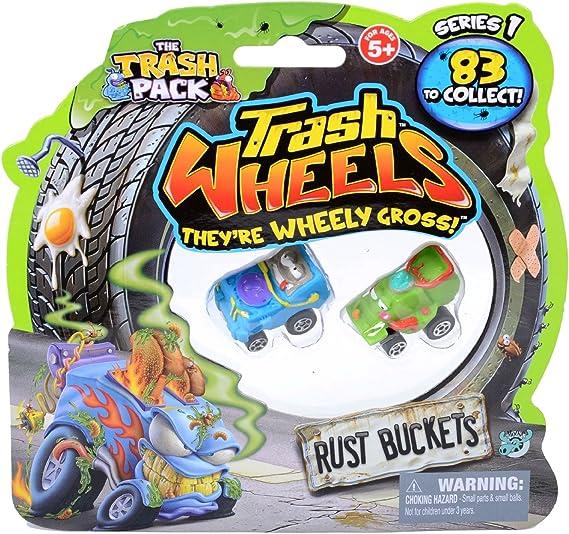 Trash Pack Wheels Rust Buckets Blister (2-Pack): Amazon.es: Juguetes y juegos