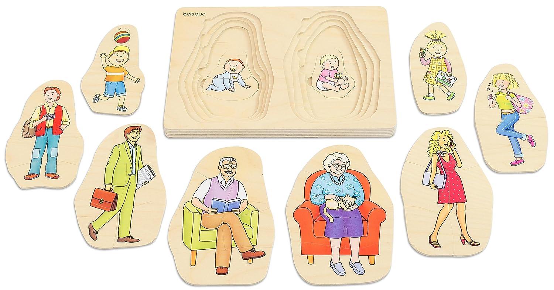 Puzzle Mutter Beleduc 17024 Lagen