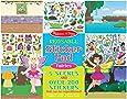 Melissa & Doug Reusable Sticker Pad: Fairies (200+ Stickers)