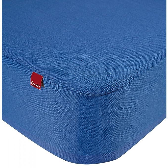 Drap housse Epeda 2 en 1 bleu 140x190