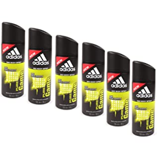 on sale a4959 3a06d 6 x adidas Pure Game Deo 150ml