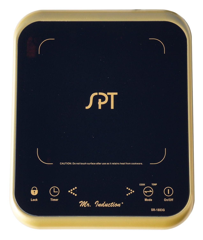Amazon.com: SPT sr-1883g 1650 W Inducción, Vitrocerámicas ...