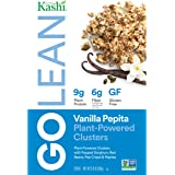 Kashi Go Lean Vanilla Clusters Plant-Powered Cereal, 10.8 Ounce