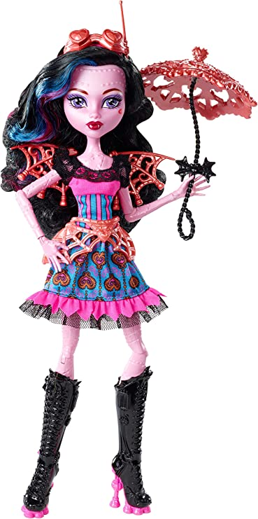 Amazon.com: Monster High Freaky Fusion Dracubecca Doll: Toys & Games