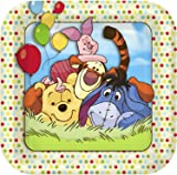 Winnie the Pooh and Pals Small Paper Plates (8ct)  sc 1 st  Amazon.com & Amazon.com: Precious Moments \u0027Baby Boy\u0027 Small Paper Plates (8ct ...