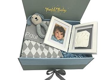 exklusives Baby Geschenkset M/ädchen /& Jungen//Geschenk zur Geburt oder Taufe