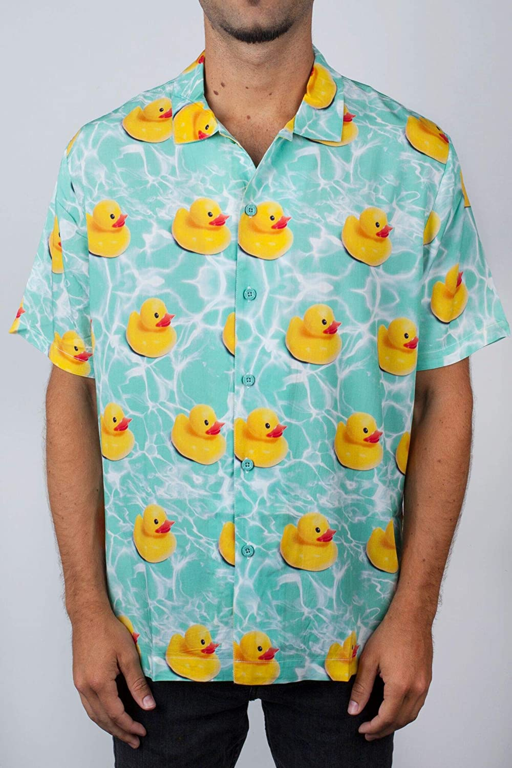 Turquoise rougeuck L NEFF Daily Pool Sider Camicia Turquoise rougeUCK PE19