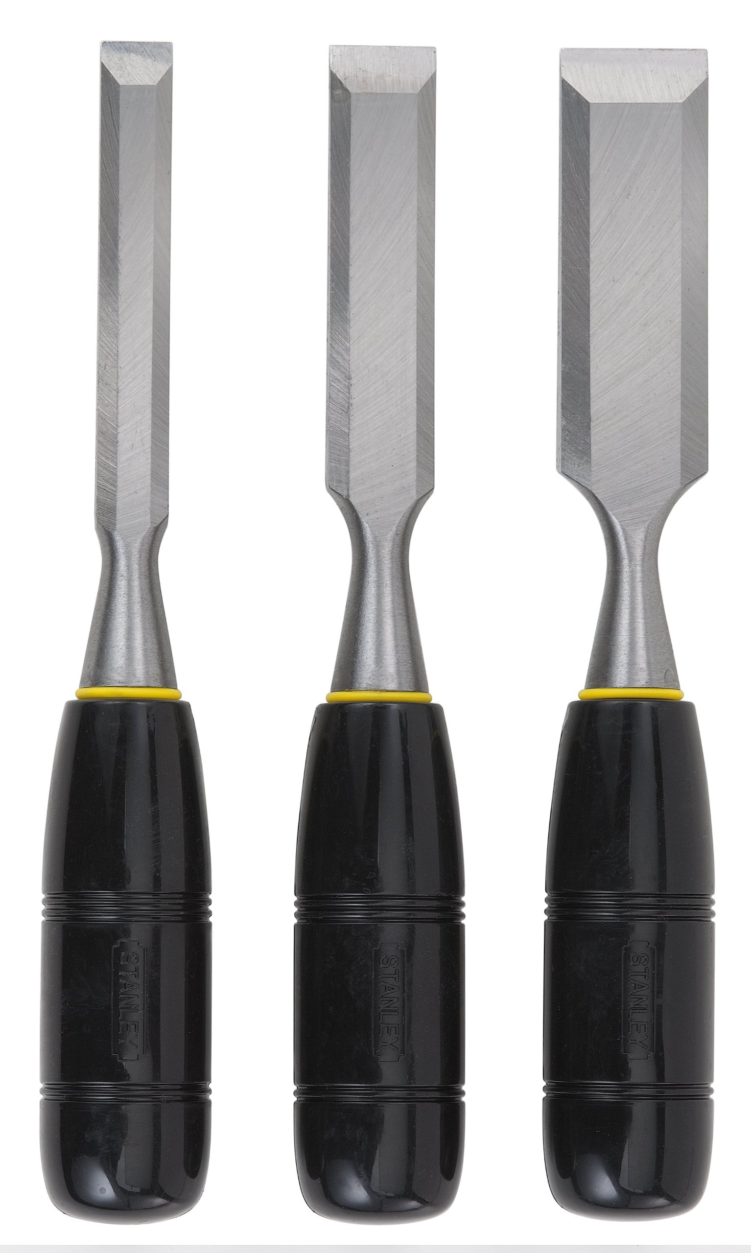 Stanley 16-150 150 Series Short Blade 3-Piece Wood Chisel Set by Stanley